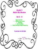 Grade 3 Math SOL Review Set 2-A
