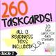 Grade 3 Math STAAR Test Prep Task Cards (DECK 2) READINESS TEKS Bundle!