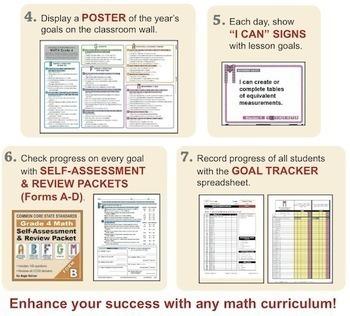 Grade 3 Math STAR TEACHER BUNDLE (Communication, Review, Tracking)