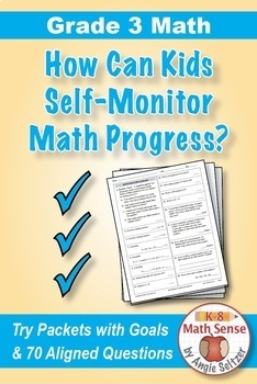 Grade 3 Math Self-Assessment and Review BUNDLE, Forms A-D