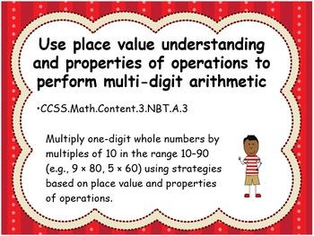 Grade 3 Math Standards