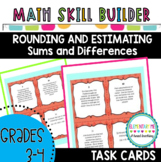 Grade 3 Math Task Cards- Rounding and Estimation to Find S