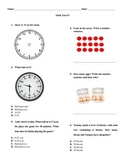 Grade 3 Math Test #3