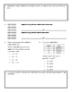 Grade 3 Math Test: Addition, Subtraction, Multiplication, and Division