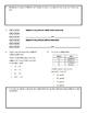 Grade 3 Math Test: Addition, Subtraction, Multiplication,
