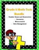 Grade 3 Math Test Bundle