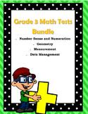 Grade 3 Math Test Bundle