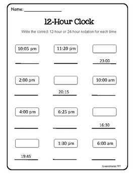 Grade 3 Math: Time Unit - Ontario Curriculum