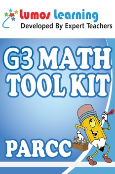 Grade 3 Math Tool Kit for Educators, PARCC Edition