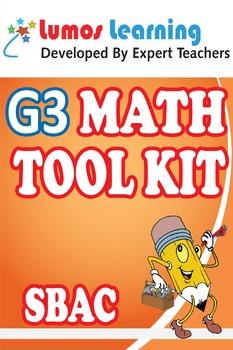 Grade 3 Math Tool Kit for Educators, SBAC Edition