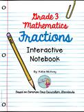 Grade 3 Mathematics: Fractions Interactive Notebook