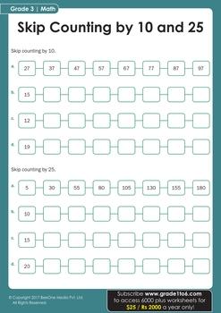 Grade 3 Maths Workbook from www.Grade1to6.com Books