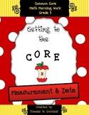 Grade 3 Measurement & Data (Including Line Plots) Assessments