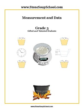 Grade 3 - Measurement & Data for Gifted and Talented Students