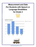 Grade 3, CCS: Measurement /Data for the Speech/Language Challenged