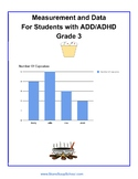 Grade 3, CCS: Measurement/ Data for students with ADD/ ADHD