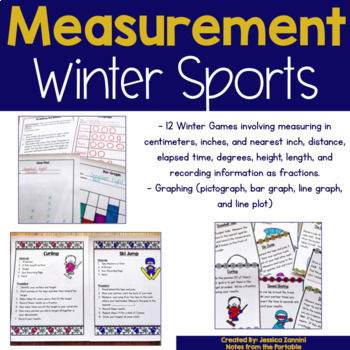 Grade 3 Measurement Olympics Choice Board (Common Core Aligned)