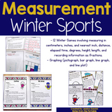 Winter Math Centers with Measurement Sports