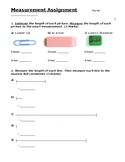 Grade 3 Measurement Quiz