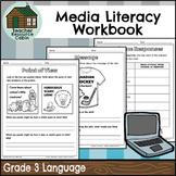 Grade 3 Media Literacy Workbook | NO PREP (Ontario Language Curriculum)