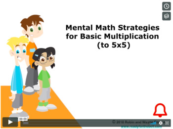 Grade 3: Math: Mental Math Strategies  for Basic Multiplication Concept Capsule
