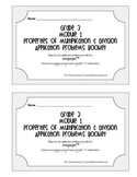 Grade 3 Math Module 1 Application Problems Booklet
