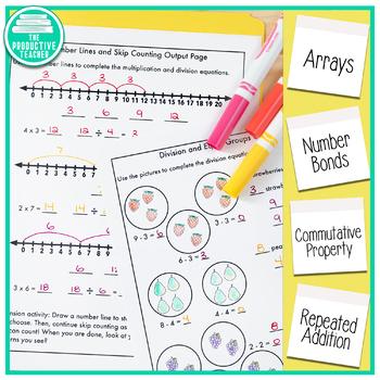 Engage New York Math Aligned No Cut Interactive Notebook: Grade 3, Module 1