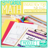 Engage New York Math Aligned No Cut Interactive Notebook Grade 3 Module 1