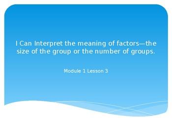 Grade 3 Module 1 Lesson 3