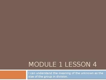 Grade 3 Module 1 Lesson 4