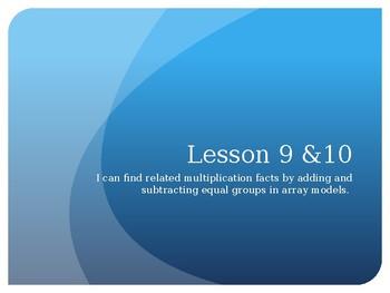 Grade 3 Module 1 Lesson 9&10