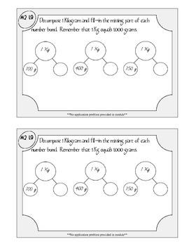 Grade 3 Math Module 2 Application Problems Booklet
