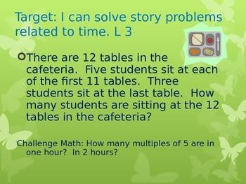 Grade 3 Module 2 Application Problems Entry Task PowerPoint - Eureka