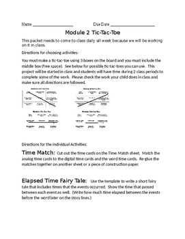 Grade 3 Module 2 End of Module Project/Review