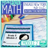 Engage New York Math Aligned No Cut Interactive Notebook: Grade 3, Module 2