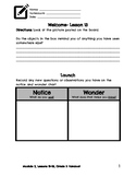 Grade 3, Module 2, Wit and Wisdom, Lessons 13-26