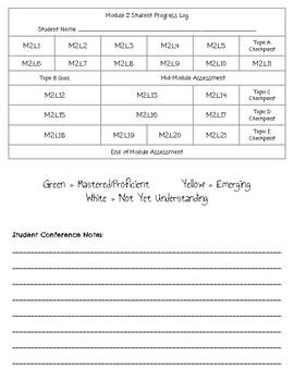 Grade 3 Module 2 Zearn Student Work Log