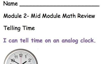 Grade 3 Module 2- mid module review sheet