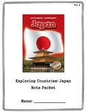 Grade 3 Module 2B Unit 1: Exploring Countries- Japan
