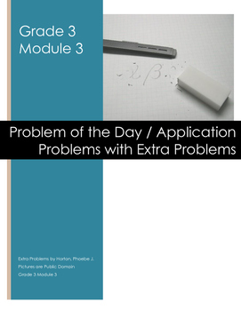 Grade 3 Module 3 Application Problems with Extra Problems