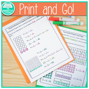 Engage New York Math Aligned No Cut Interactive Notebook: Grade 3, Module 3