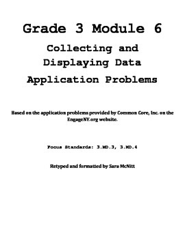 Grade 3 Module 6 Application Problems