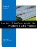 Grade 3 Module 6 Application Problems with Extra