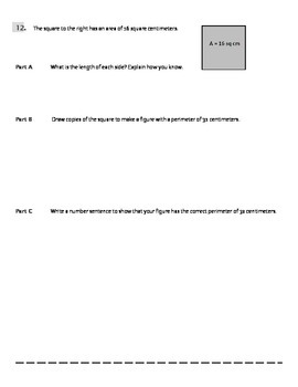 Grade 3 Module 7 End-Module Assessment