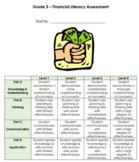 Grade 3 Money Assessment