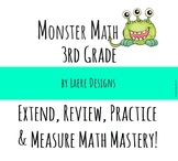 Grade 3 - Monster Math - Show What You Know! CCSS