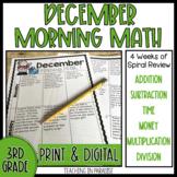 Grade 3 Morning Math Review: December
