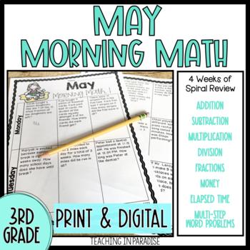 Grade 3 Morning Math Review: May