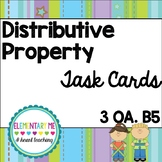 Grade 3 Multiplication Distributive Property Task Cards Ce