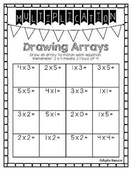 Grade 3 Multiplication & Division (Manitoba, Canada Outcomes)